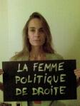 La femme Politique de Droite